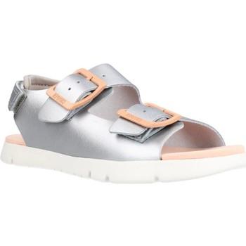 Buty Dziewczynka Sandały Camper 005 ORUGA Srebrny