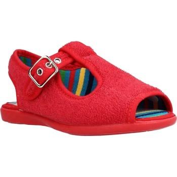 Buty Chłopiec Obuwie domowe Chispas 38155000 Czerwony