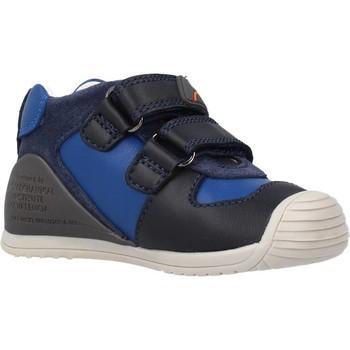 Buty Chłopiec Buty za kostkę Biomecanics 211132 Niebieski