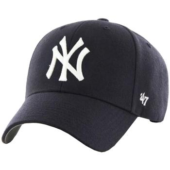 Dodatki Męskie Czapki z daszkiem 47 Brand MLB New York Yankees Cap Niebieski