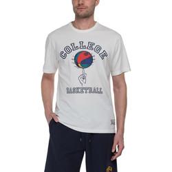 tekstylia Męskie T-shirty z krótkim rękawem Franklin & Marshall T-shirt Franklin & Marshall Classique gris