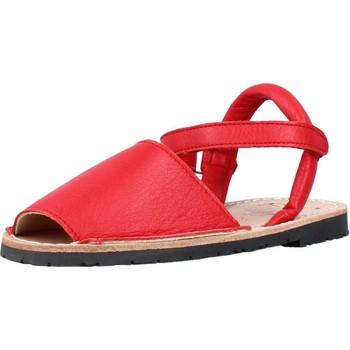 Buty Chłopiec Sandały Ria 20090 Czerwony