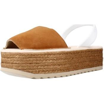 Buty Damskie Sandały Ria 21940 S2 Brązowy