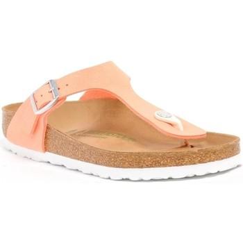 Buty Damskie Japonki Birkenstock Gizeh BS Pomarańczowy Pink