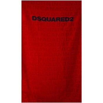 Dom Damskie Prześcieradło Dsquared D7P001920 Czerwony