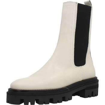 Buty Damskie Botki Alpe 2095 14 Biały