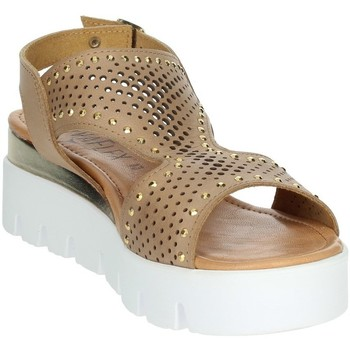 Buty Damskie Sandały Novaflex AGRATE 'Brązowy skóra