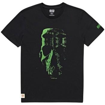 tekstylia Męskie T-shirty z krótkim rękawem Globe T-shirt  Refuse Skull noir