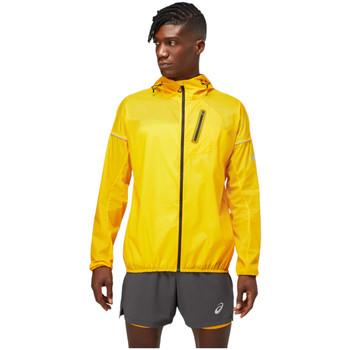 tekstylia Męskie Kurtki wiatrówki Asics FujiTrail Jacket Żółty