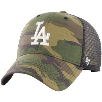 Dodatki Męskie Czapki z daszkiem 47 Brand Los Angeles Dodgers Branson Cap Zielony