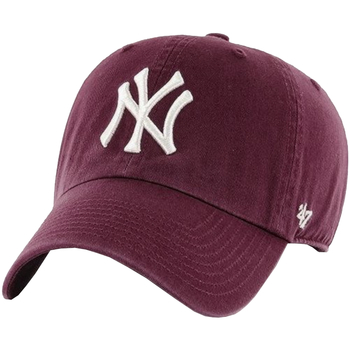 Dodatki Męskie Czapki z daszkiem 47 Brand New York Yankees MLB Clean Up Cap Bordeaux