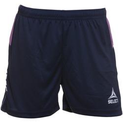 tekstylia Damskie Szorty i Bermudy Select Short femme  Player Comet bleu navy