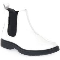 Buty Chłopiec Buty za kostkę Naturino N01 PICCADILLY WHITE Bianco