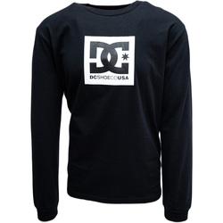 tekstylia Męskie Bluzy dresowe DC Shoes Square Star Czarny