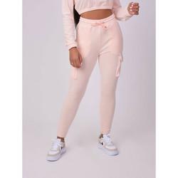 tekstylia Damskie Spodnie dresowe Project X Paris Jogging femme rose clair