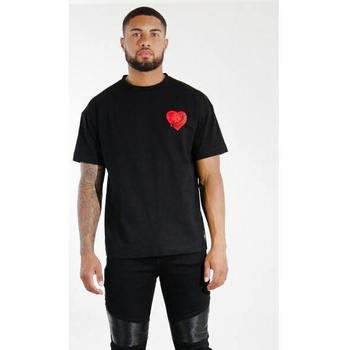 tekstylia Męskie T-shirty z krótkim rękawem Sixth June T-shirt  Oversize noir