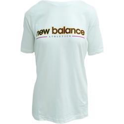 tekstylia Topy na ramiączkach / T-shirty bez rękawów New Balance Athletics Higher Learning Biały
