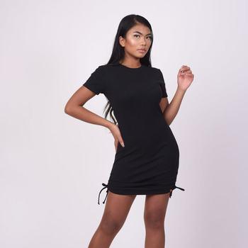 tekstylia Damskie Sukienki krótkie Project X Paris Robe femme noir