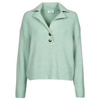 tekstylia Damskie Swetry Betty London PATRICIA Zielony