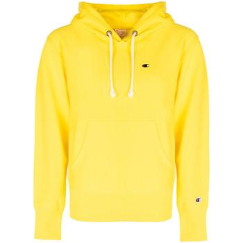 tekstylia Męskie Bluzy Champion  Żółty