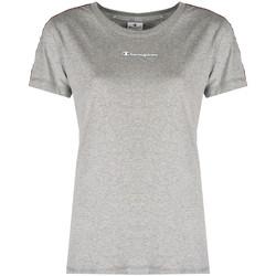 tekstylia Damskie T-shirty z krótkim rękawem Champion  Szary