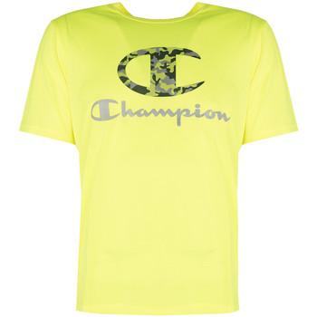 tekstylia Męskie T-shirty z krótkim rękawem Champion  Żółty