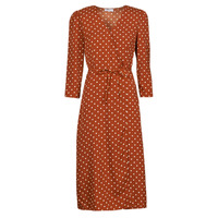 tekstylia Damskie Sukienki długie Betty London PAXONE Rouille