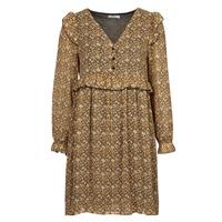 tekstylia Damskie Sukienki krótkie Betty London PIXONE Brązowy