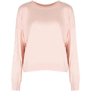 tekstylia Damskie T-shirty z długim rękawem Champion  Różowy