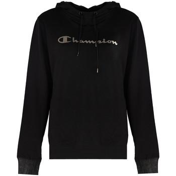 tekstylia Damskie Bluzy Champion  Czarny
