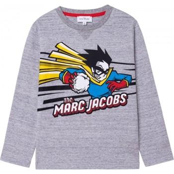 tekstylia Chłopiec T-shirty z długim rękawem Marc Jacobs W25517 Szary