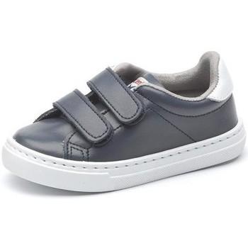 Buty Dziewczynka Trampki niskie Cienta Chaussures fille  Deportivo Scractch Piel bleu marine
