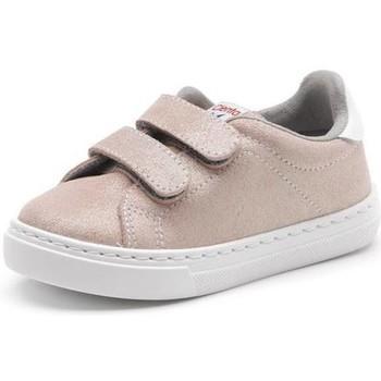 Buty Dziewczynka Trampki Cienta Chaussures fille  Deportivo Scractch Glitter rose
