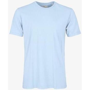 tekstylia T-shirty z krótkim rękawem Colorful Standard T-shirt  Polar Blue bleu pâle