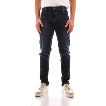 tekstylia Męskie Jeansy straight leg Trussardi 52J00000 1Y000186 Niebieski