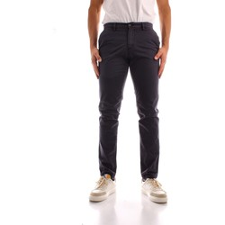 tekstylia Męskie Spodnie bojówki Trussardi 52P00000 1Y000191 Niebieski