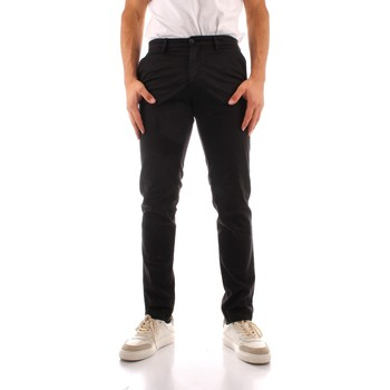 tekstylia Męskie Spodnie bojówki Trussardi 52P00000 1Y000191 Czarny