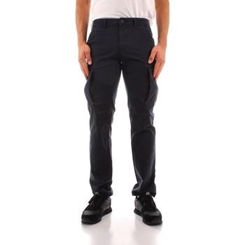 tekstylia Męskie Spodnie bojówki Napapijri NP0A4FR31761 Niebieski