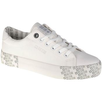 Buty Damskie Trampki niskie Big Star Shoes Biały