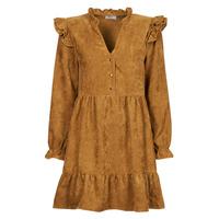 tekstylia Damskie Sukienki krótkie Betty London PINEA Camel
