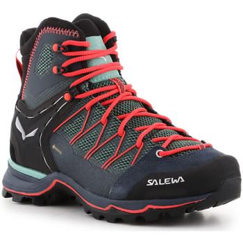 Buty Damskie Trekking Salewa Buty trekkingowe  Ws Mtn Trainer Lite Mid GTX 61360-5585 zielony