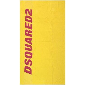 Dom Damskie Ręcznik i rękawica kąpielowa Dsquared D7P002430 Żółty