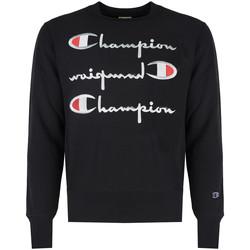 tekstylia Męskie Bluzy Champion  Czarny