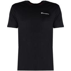 tekstylia Męskie T-shirty z krótkim rękawem Champion  Czarny