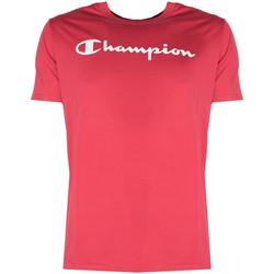 tekstylia Męskie T-shirty z krótkim rękawem Champion  Czerwony