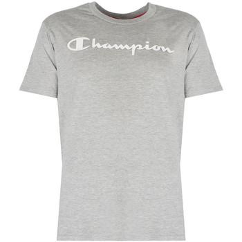tekstylia Męskie T-shirty z krótkim rękawem Champion  Szary