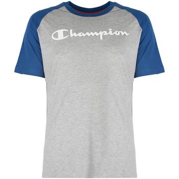 tekstylia Męskie T-shirty z krótkim rękawem Champion  Niebieski