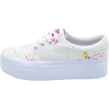 Buty Damskie Trampki niskie DC Shoes Trase Biały
