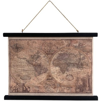 Dom Obrazy Signes Grimalt Zwijana Mapa Płócienna Multicolor