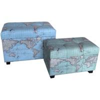 Dom Kufry, skrzynki Signes Grimalt Set 2 Kufry Światowe Azul